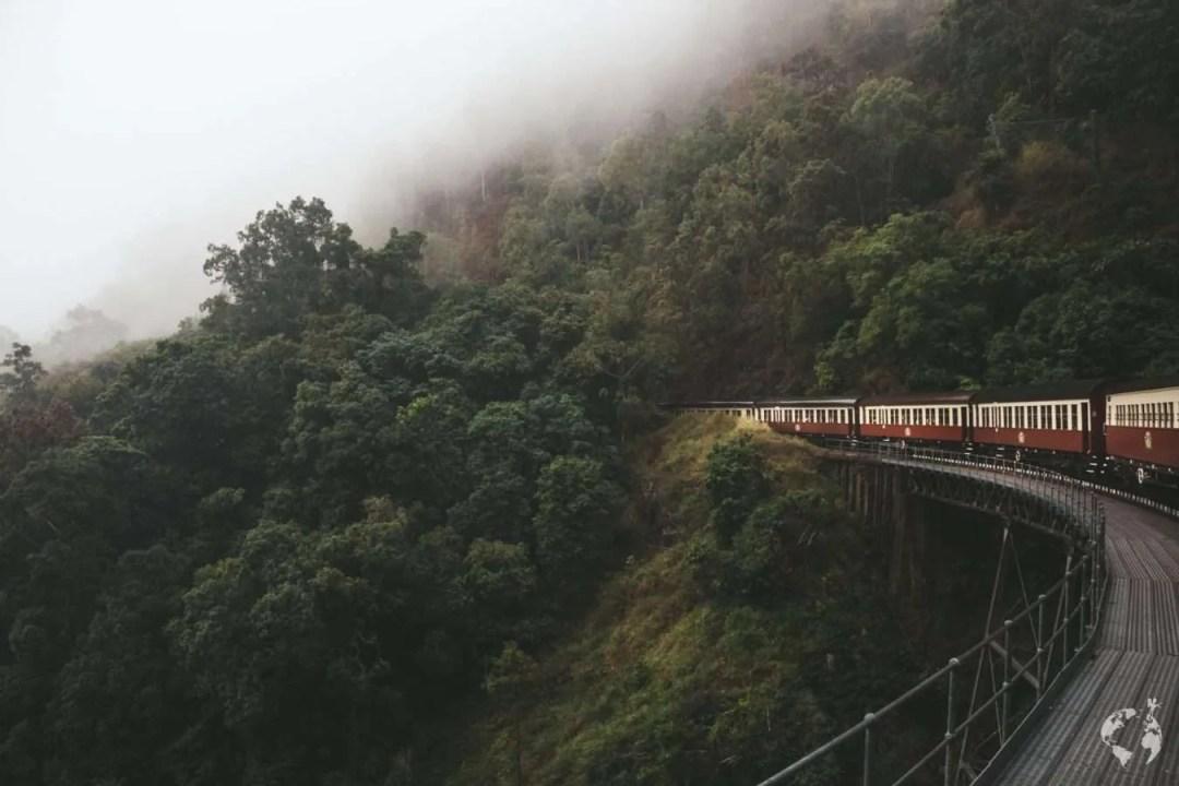 Cairns Kuranda train scenic railway price