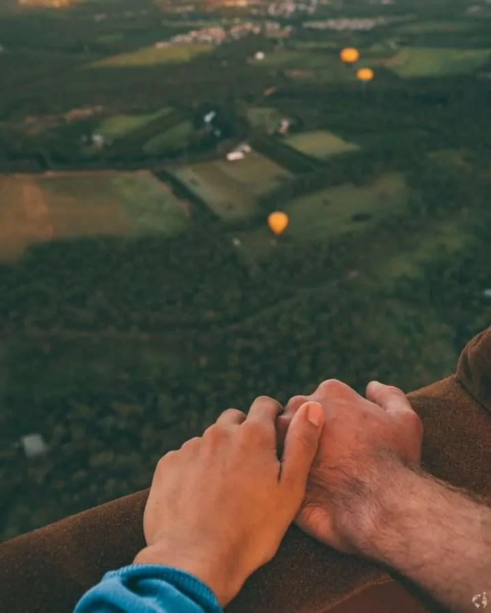australia hot air balloon
