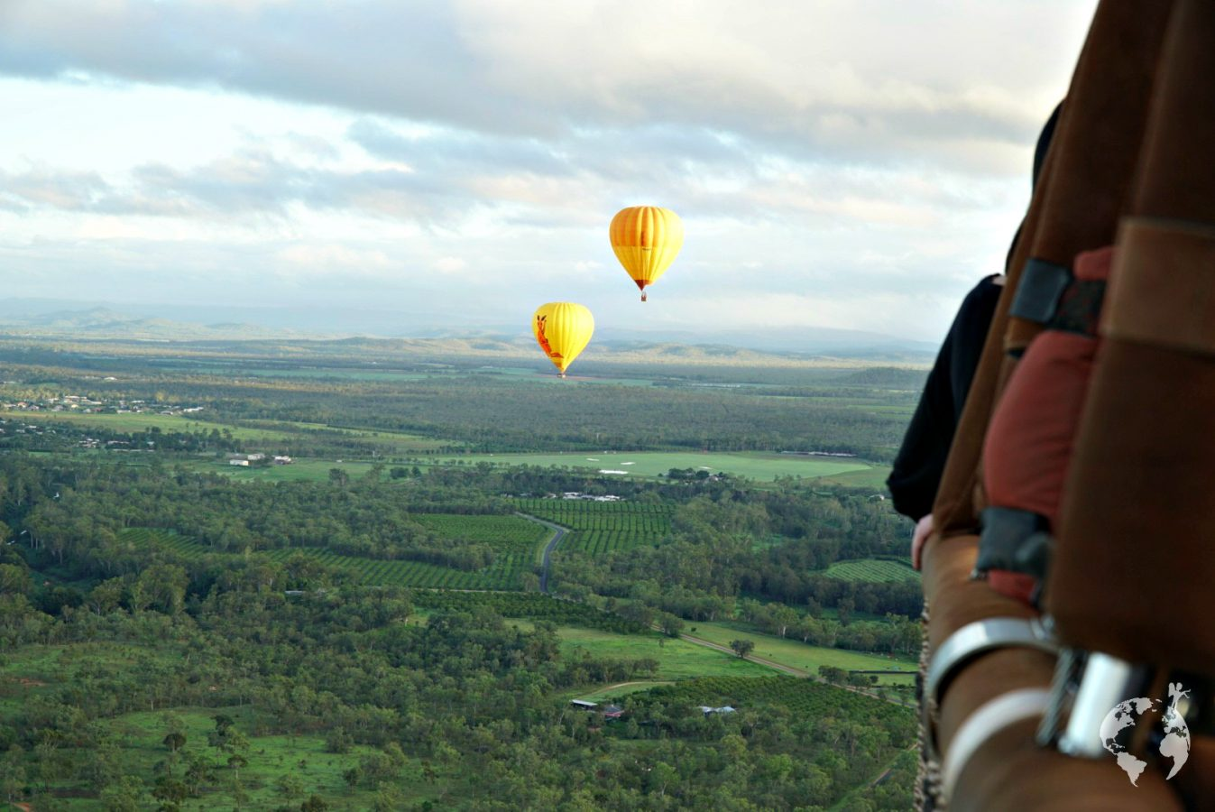 HOT AIR BALLOON CAIRNS RIDE&REVIEW