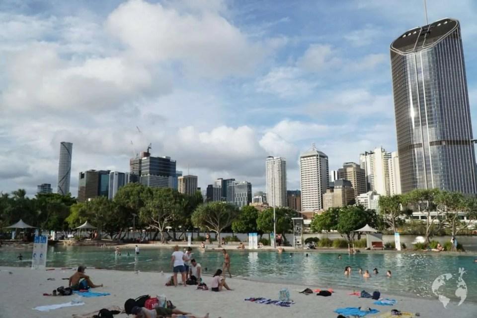 Brisbane South Bank swimming pool