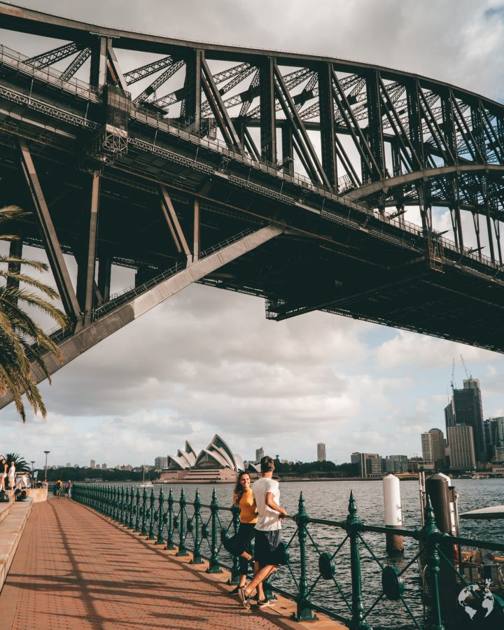 sydney harbour bridge best view