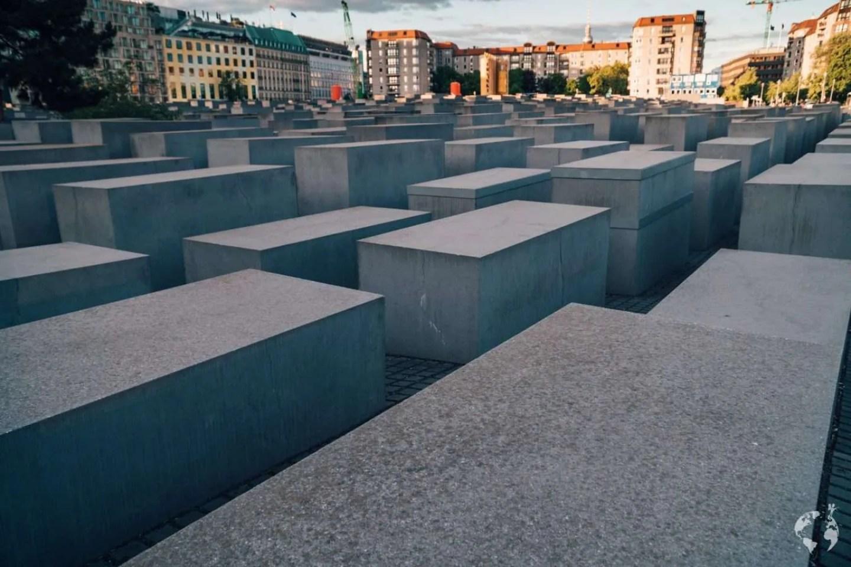 Holocaust Memorial Berlin where is it