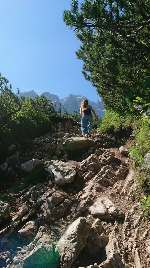 how to hike to Lake Sorapis