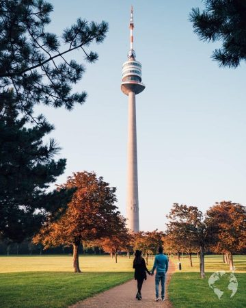 danube tower views vienna