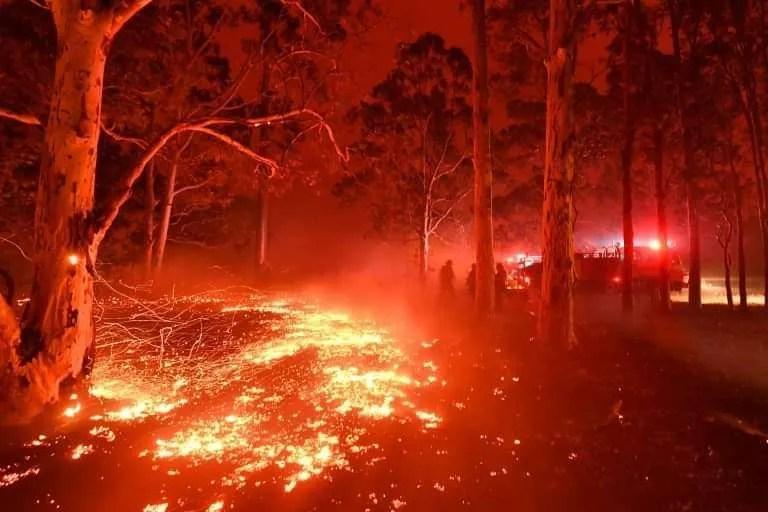australia bushfire è pericoloso viaggiare