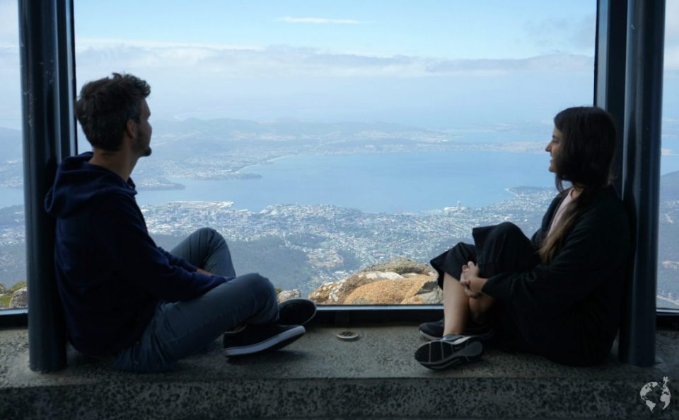what to see in hobart mount wellington