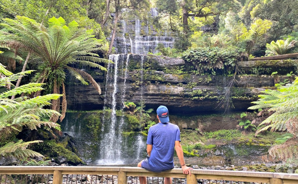 Russell Falls Tasmania how to go