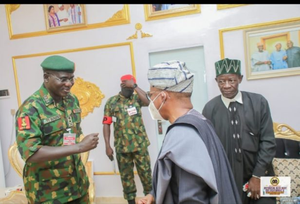 tukur buratai,osun state,chief of nigeria army staff, I Will Continue To Support Southwest People, Buratai Says As He Commissions Bridge In Osun, NAIJAPARRY
