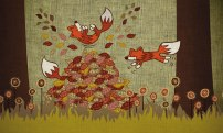 foxes-leaping-in-leaves