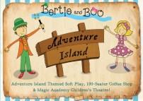 Adventure Island Flyer Bertie and Boo