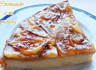 pastel de manzana y yogur