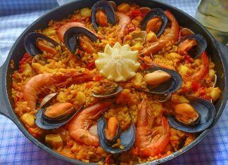 paella de marisco receta
