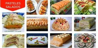 pasteles salados