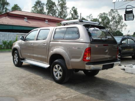 canopy new Toyota Hilux Vigo Double Cab at Thailand's most trusted Toyota Hilux Vigo dealer Jack Motors Thailand