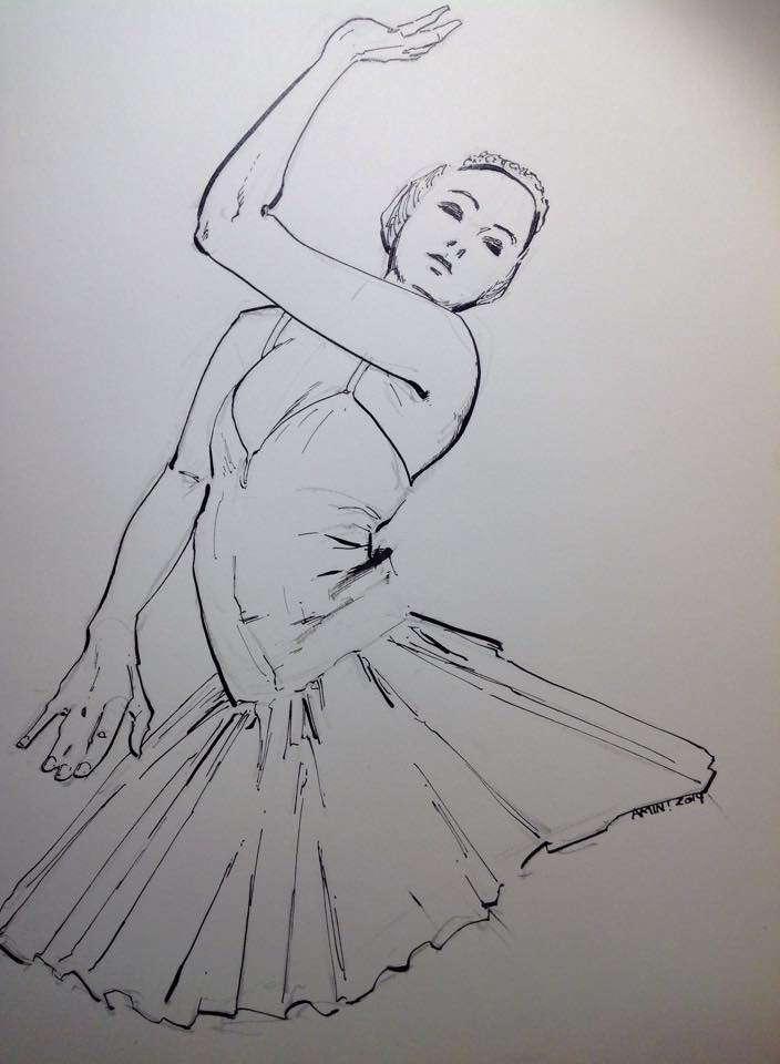 dance_ink_study_by_aminamat-d83m4i0