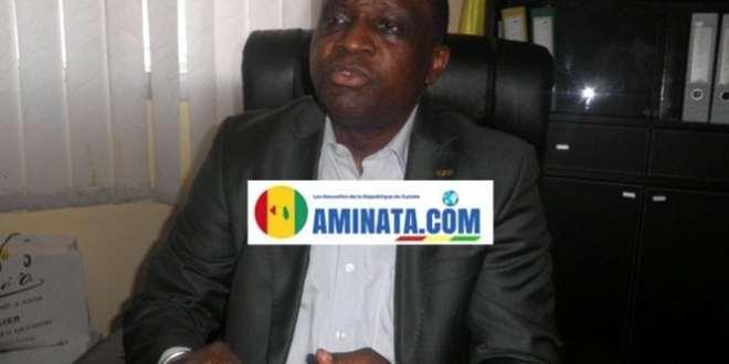 Antonio Souaré, président du Horoya et candidat à la présidence de FEGUIFOOT