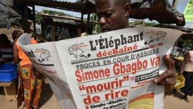 Dans les rues d'Abidjan, le 29 mars 2017, au lendemain de l'acquittement de Simone Gbagbo de crimes contre l'humanité | AFP | Sia KAMBOU