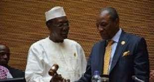 Idriss Deby et Alpha Condé