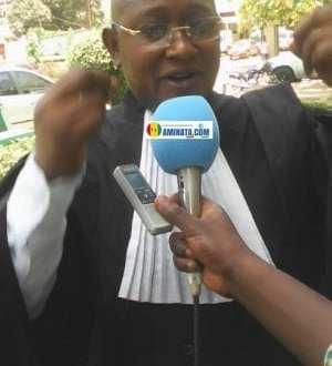 Me Salifou Beavogui, avocat à la cour d'appel de Conakry