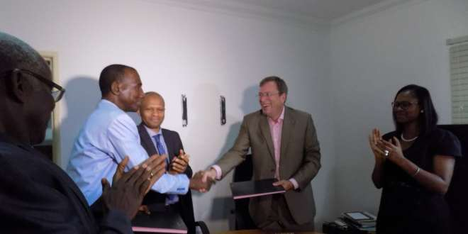 Signature d'un Mémorandum d'Entente entre l'Ecole Polytechnique de Paris et l'Institut Polytechnique de l'Université Gamal Abdel Nasser de Conakry (UGANC).