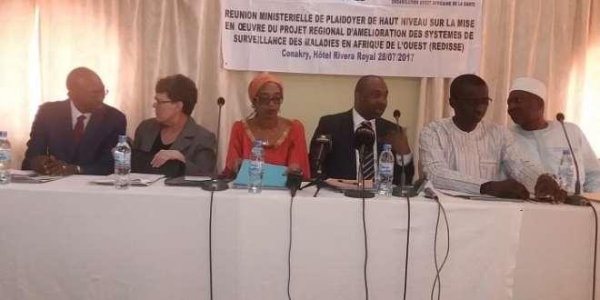 PROJET REGIONAL D'AMELIORATION DES SYSTÈMES DE SURVEILLANCE DES MALADIES EN AFRIQUE DE L'OUEST (REDISSE)