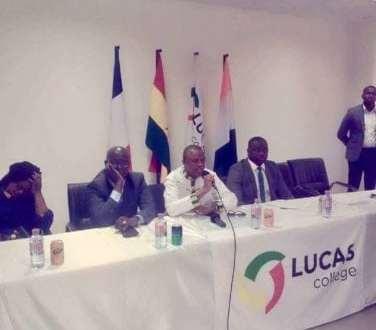 SIAKA BARRY au Ghana lucas college