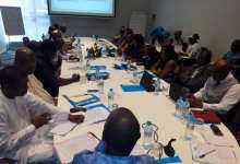 Tenue d'un Conseil de cabinet extraordinaire élargi au staff de l'UNICEF.