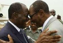 Alassane Ouattara et Alpha Condé