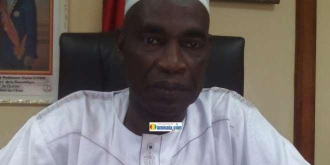 Colonel N'famara Diomandé,, préfet maritime