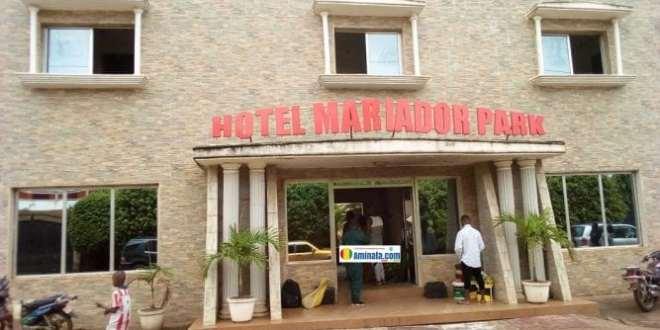 La déventure de l'hôtel Mariador Park à Taouyah commune de Dixinn