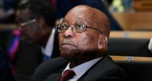 Le président sud-africain Jacob Zuma lors d'une réunion de l'Union africaine à Addis Abeba le 28 janvier 2018.   AFP/Archives   SIMON MAINA