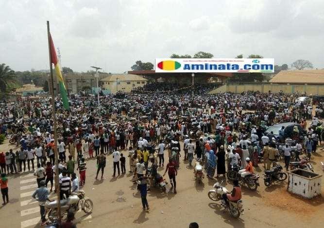 Un meeting géant de l'UFDG à N'zérékoré