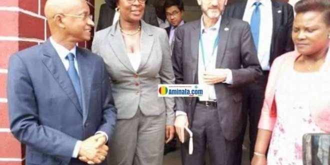 Cellou Dalein Diallo reçoit des diplomates dans le QG de l'UFDG
