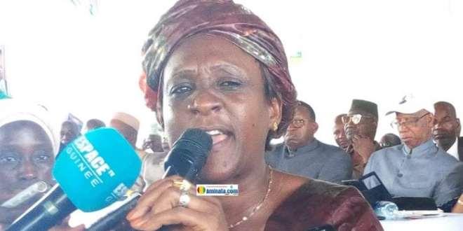 Hadja Mariama Tata Bah, députée de l'Union des forces démocratiques de Guinée (UFDG)