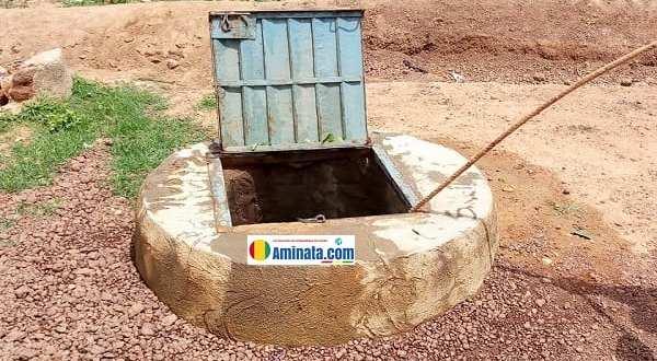 Un puits à Dinguiraye
