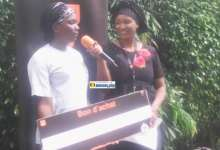 Une gagnante du Promo Ramadan d'Orange Guinée
