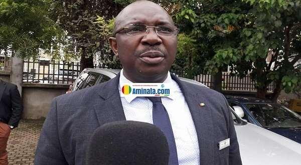 Ibrahima Koné, président de l'antenne Guinée de l'Union de la presse francophone