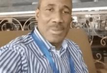 Mohamed Condé, fonctionnaire des Nations-unies à Kaboul