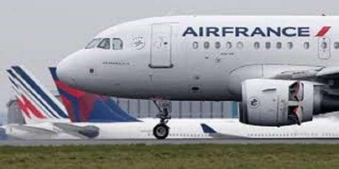 Un avion d'Air France