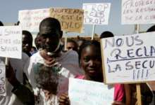 Des étudiants africains manifestent contre le racisme au Maroc