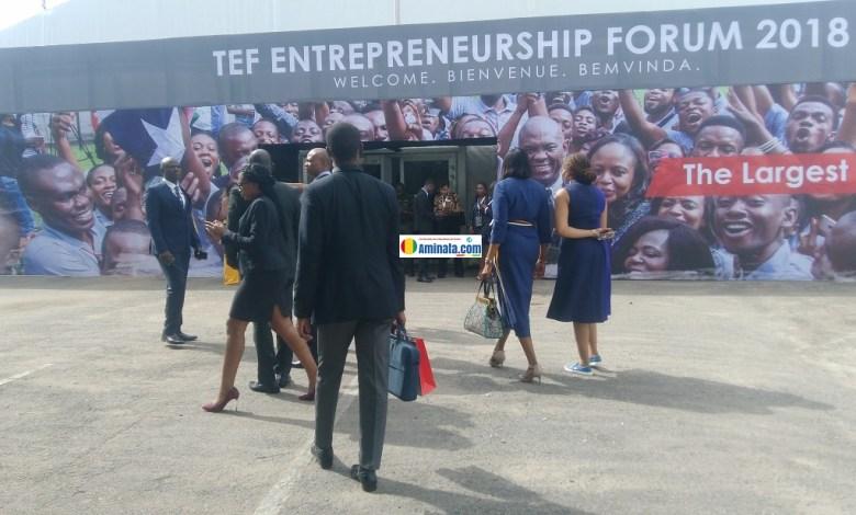 TEF 2018 à Lagos, le plus grand forum d'entrepreneurs d'Afrique