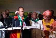 Abdoulaye Sow, élu secrétaire général de l'Union du syndicat des travailleurs de Guinée (USTG)