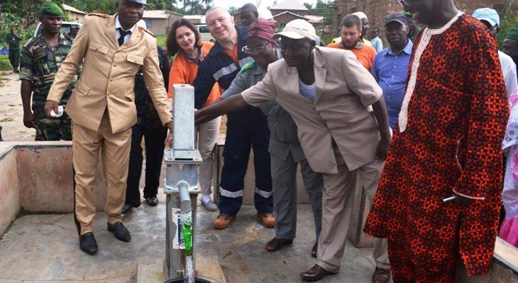La compagnie RUSAL-CBK offre six forages et 60 millions FG aux populations de Mambia et de Friguiagbé (Kindia)