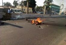 Violentes manifestations des élèves à Bonfi