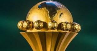 Le trophée de la coupe d'Afrique des Nations CAN