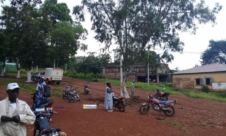 Une vue de la ville de Tougué