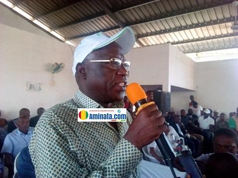 Kalémodou Yansané, vice-président de l'UFDG chargé des questions économiques