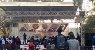 Les candidats de la présidentielle sénégalaise face au peuple, une initiative du mouvement Y'en a marre