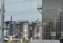 Une usine pharmaceutique, image d'illustration