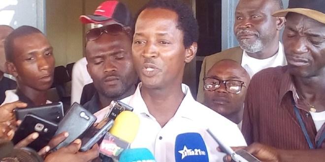 Alpha Abdoulaye Diallo, directeur de publication du journal ''Le populaire'' élu président de l'Association guinéenne des éditeurs de la presse indépendante (AGEPI)